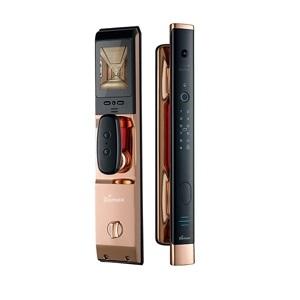 Khóa điện tử, vân tay thông minh màn hình chuông Demax SL868 C