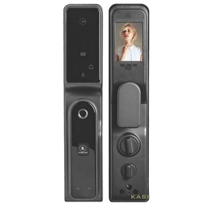 Khóa điện tử, vân tay thông minh màn hình chuông KASSLER KL-858