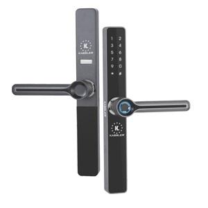 Khóa điện tử, vân tay thông minh KASSLER KL-599 Black (dành cho cửa nhôm xingfa, cửa sắt)