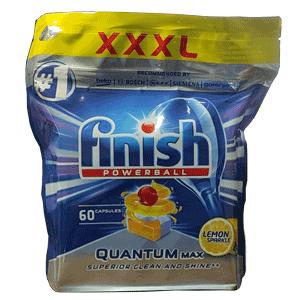 Viên rửa chén Finish quantum max 60 viên